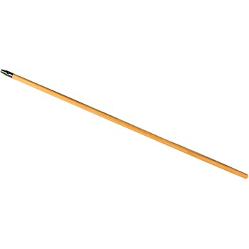 Wood Extension Pole, Metal Tip ~ 48""