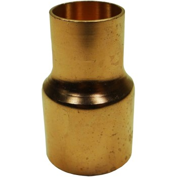 3/4x1/2 Copper Red Coupling
