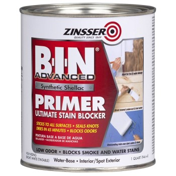 BIN Synthetic Shellac Primer, White ~ Quart