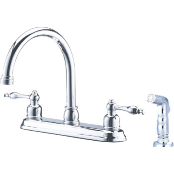 Kitchen Faucet, Bismark Chrome