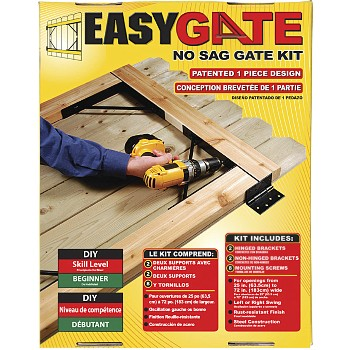 Easy Gate Bracket System