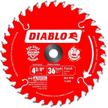 4-3/8in. 36t Trim Saw Bld