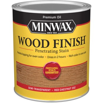 Wood Finish ~ Red Chestnut,   Quart