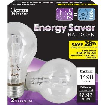 Feit Elec. Q72A/CL/2 72w Es Ha A19 C Bulb