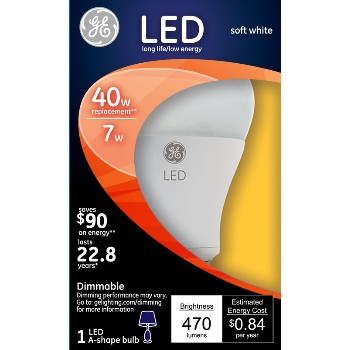 LED Light Bulb - 40 watt ~ Frosted Finish
