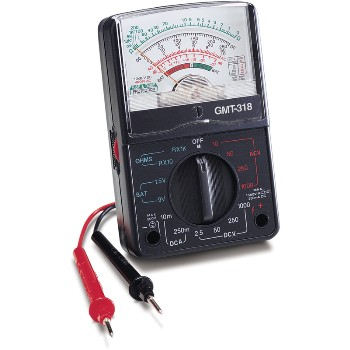 Analog Multi-Meter ~ 6 Function