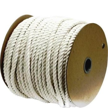 "Twisted Cotton Rope, 3-Strand ~ 1/2"" x 300 Ft"