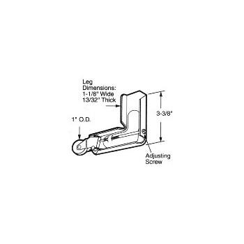 PrimeLine/SlideCo B604 Corner Roller Assembly
