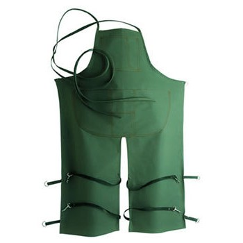 Split Leg Loop Neck Apron