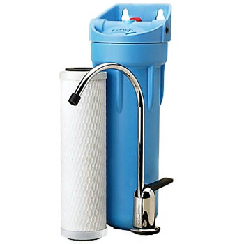 Water Filter ~  Under Sink w/Separate Faucet