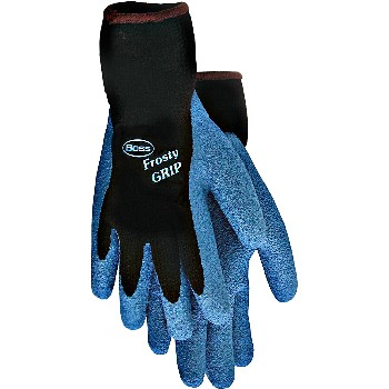 Frosty Grip Insulated Latex Coated Gloves ~ Medium