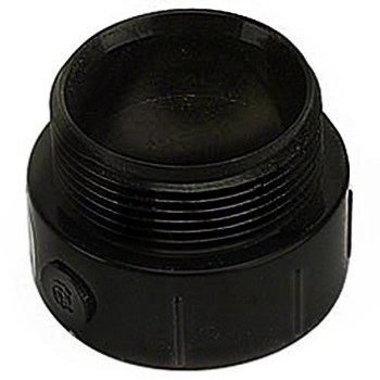 Male Adapter, ABS / DWV 1 1/2 inch