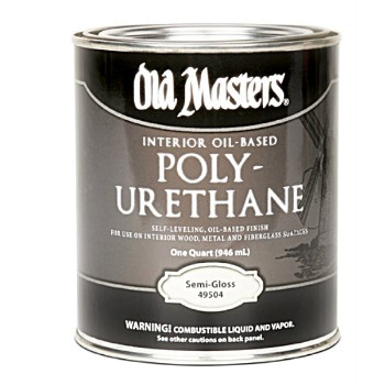 Polyurethane ~ Interior, Oil Based Semi-Gloss/Qrt