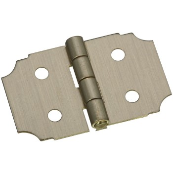 Solid Brass/Antique Brass Decorative Hinge, Visual Pack 1816 5/8 x 1