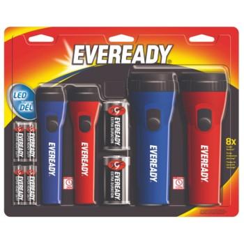 Energizer EMV5511S LED Flashlight 4-Pack Combo  EMV5511S