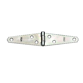 "Light Strap Hinges, Zinc - 3"" ~ Pack of 2"