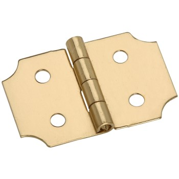 Solid Brass/Pb Decorative Hinge, Visual Pack 1816 5/8 x 1