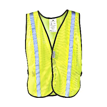 3M 078371946012 Safety Vest, Day & Night Fluorescent Yellow
