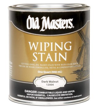 Wiping Wood Stain, Dark Walnut ~ Quart