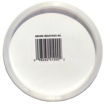 Plastic Pail Lid Fits  Pint & Quart Pails Plus # 41032
