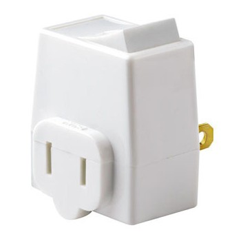 Plug-in On/Off Switch,   White