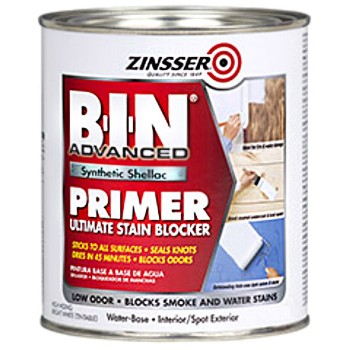 BIN Synthetic Shellac Primer ~ White, Gallon