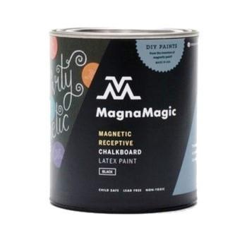 MagnaMagic MCPQ850 Chalkboard Paint, Black ~ Quart