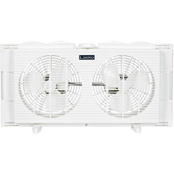 Lasko 2137 7in. Twin Window Fan