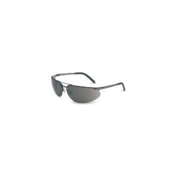 Metal/Gray Safety Glasses