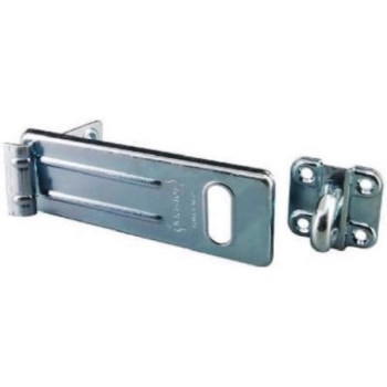 Master  Heavy-Duty Safety Hasp, Zinc Plated ~ 6""