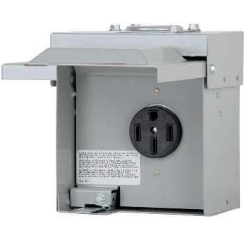 Eaton Corp CHU1S Unmetered Temporary 50 Amp Power Outlet Panel ~ 125/250 Volt