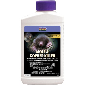 Moletox II Mole & Gopher Killer ~ 8 oz