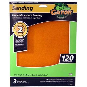 Ali Industries 7263 9x11 120 3pk Sand Sheet