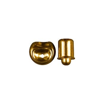 National 219055 Brass Bullet Catch, Visual Pack 1845 3 / 8 inches