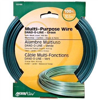 Dand-O-Line Steel Wire ~  100 feet