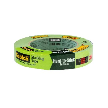"3M 021200720666 Masking Tape  ~ 1""  x 60 yds/Green"