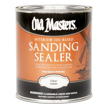Old Masters  Sanding Sealer, Clear Oil Based ~ Quart