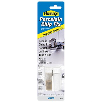 Homax White Tile Guard Porcelain Chip Fix 2164