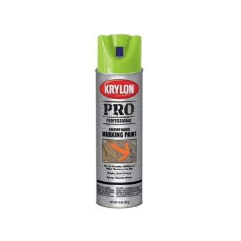 Krylon 7304 Marking Paint, Solvent Based ~ APWA Green