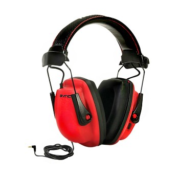 Earmuff w/MP3 Jack ~ NRR 25 Rating