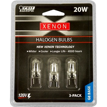 Light Bulb, Xenon Halogen ~ 120v/20w