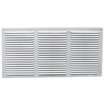 "Undereave Vent w/Screen, White ~ 16"" x 4"""