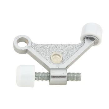 National 274118 Hinge Pin Door Stop, Satin Chrome