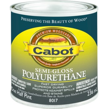 Semi-Gloss Polyurethane - 1/2 pint