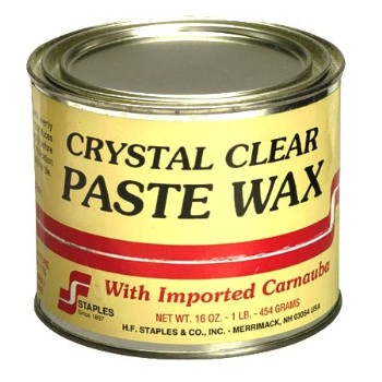 HF Staples   211 Paste Wax, Crystal Clear ~ 1 Lb.