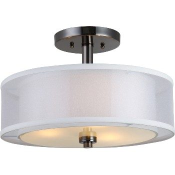 El Dorado Series Semi-Flush Mount Fixture ~ 3 Light