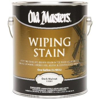 Wiping Wood Stain, Dark Walnut ~ Gallon