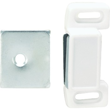 Magnet Cabinet Catch, White
