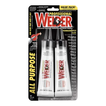 Welder Adhesive,  All Purpose ~ 1 oz tubes