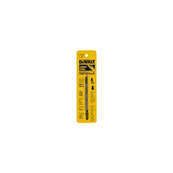 "Jig Saw Blade, Pack of 5 ~ 4"" 6TPI"